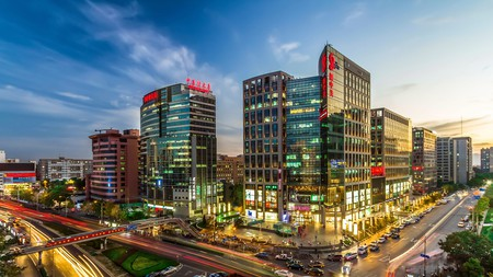 Zhongguancun, Beijing, has many places to grab a drink or two with friends