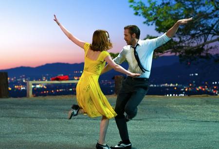 Emma Stone and Ryan Gosling in 'La La Land' – 2016