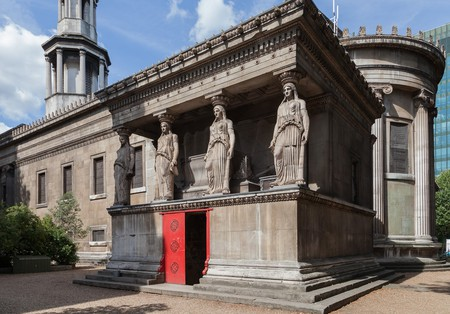 Visit The Crypt Gallery beneath St Pancras Church