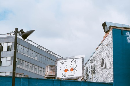 Shoreditch is a photographer's dream, with many places decorated with street art