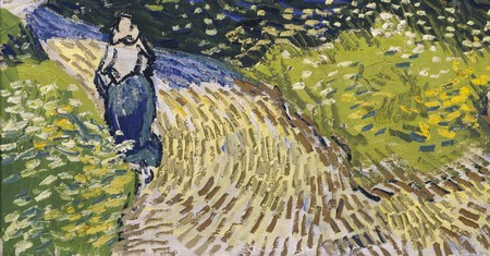 You can see Vincent Van Gogh's 'The Church at Auvers', 1890, at the Van Gogh Gallery in the Musée d'Orsay