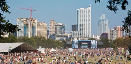 Revelers revel at the Austin City Limits Music Festival in 2008