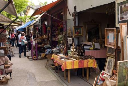 Les Puces de Saint-Ouen is one of the oldest flea markets in the world