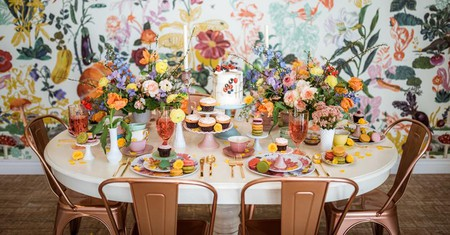 Take a snap of Dots Cafe's floral interior