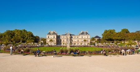 The Luxembourg Palace and Gardens were built by Marie de Medici in 1612