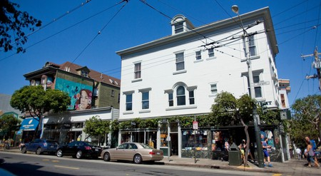 The Haight-Ashbury district offers loads of fun in a small, highly walkable area