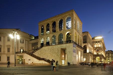 Museo del Novecento, Piazza del Duomo, Milan, Italy.