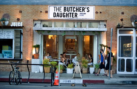 The Butcher's Daughter Cafe on Abbot Kinney in Venice, CA