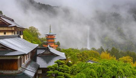 Seigantoji Pagoda and Nachi Falls, Japan