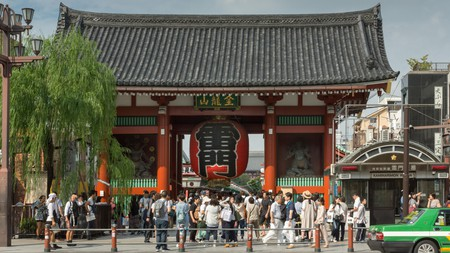 People come from around the world each year to visit Tokyo's shrines and temples