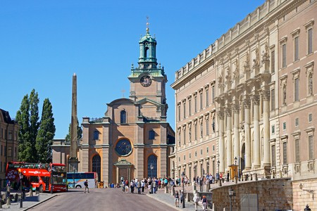 The Storkyrkan is the oldest church in Gamla Stan