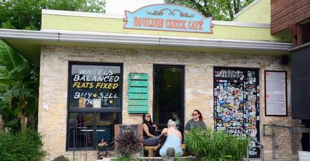 Bouldin Creek Café is a favorite brunch spot
