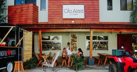The exterior of Olo Alaia