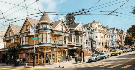 Haight-Ashbury, San Francisco, California, USA.