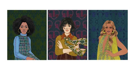 From the left: Jessica Williams, Nora Ephron and Laverne Cox. Reprinted from Renegade Women in Film and TV.