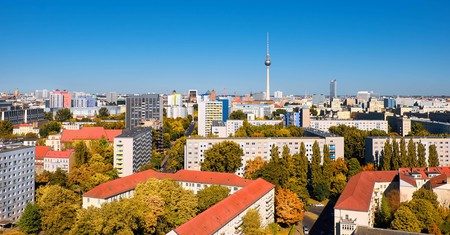 The TV Tower dominates Berlin's skyline