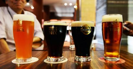 The Museum of Yebisu Beer celebrates Ebisu's most famous creations