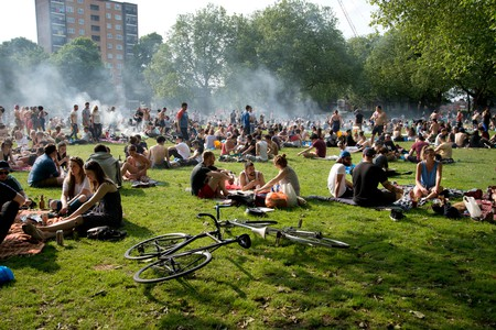 London Fields summer barbecue