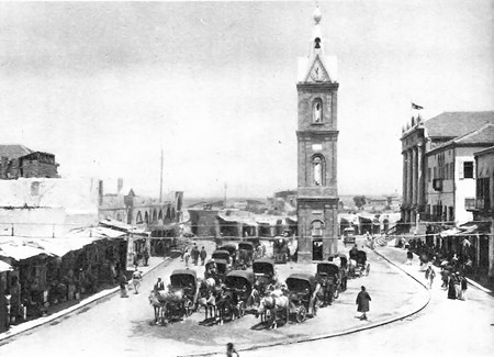 Clock Tower Jaffa 1929