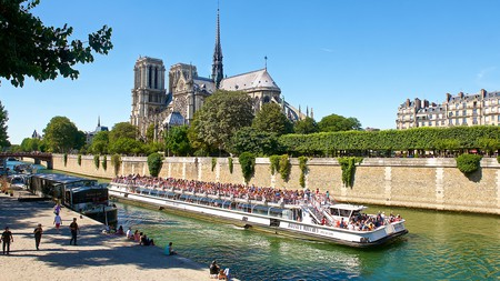 Experience Paris from the Seine on one of the city's boat tours