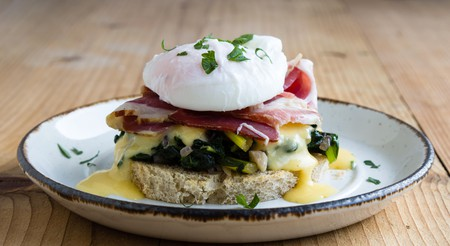 Eggs benedict is a great way to start the day