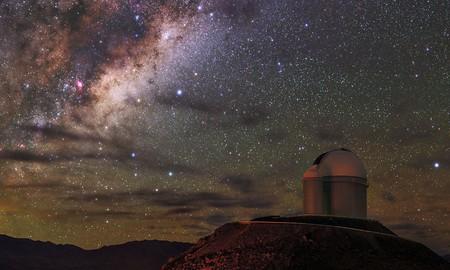 There is virtually no light pollution in the Atacama Desert