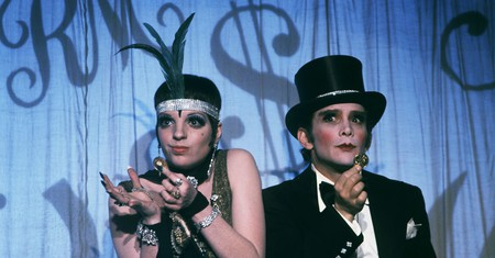 Liza Minnelli and Joel Grey star in 'Cabaret' (1972)