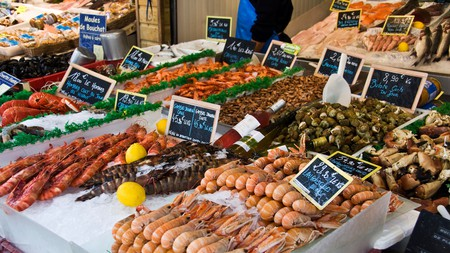 Fresh seafood is a must on a visit to the Brittany coast