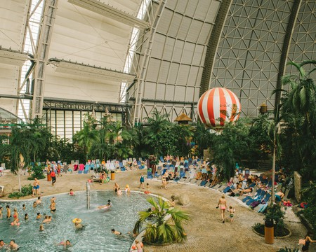 Tropical Islands provides the perfect winter escape from Berlin