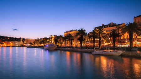 Where to go when the sun sets in Split