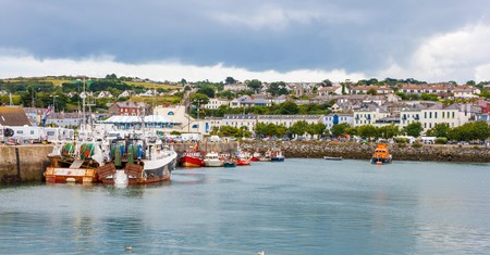 Take a day trip on Dublin's DART to the quaint fishing village of Howth