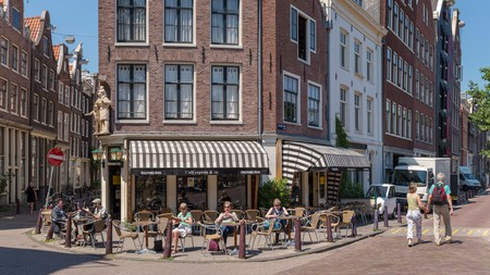 Amsterdam is brimming with cafés