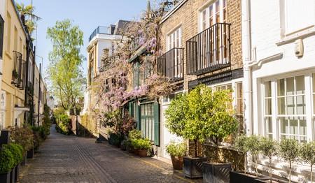 Explore the cobblestone streets of South Kensington