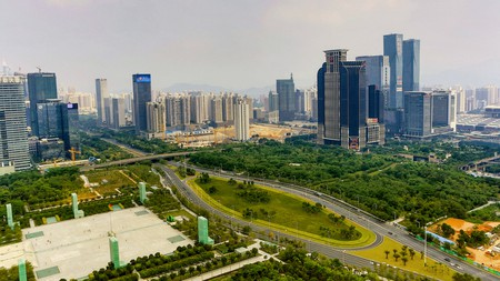 Shenzhen is recognised as China's most sustainable city