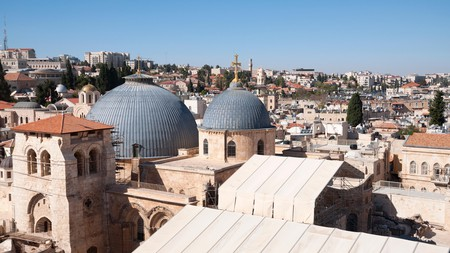 Church of the Holy Sepulchre in Jerusalem's old city.