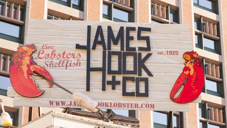 Visit James Hook and Co. in Boston for a scrumptious lobster roll