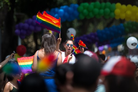 Tel Aviv Pride celebrates the country's LGBTQ community