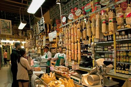 C99KT2 Molinari Deli Delicatessen Little Italy San Francisco California United States of America American USA Town City