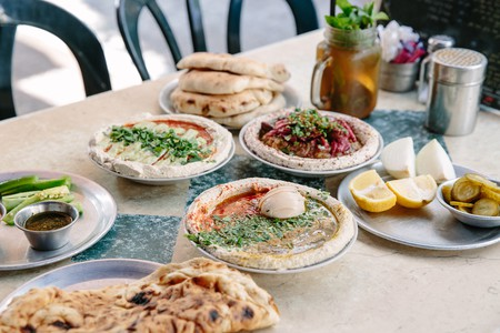 Shlomo and Doron offers creative spins on hummus