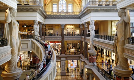 The Forum Shops has everything a fashionista could want