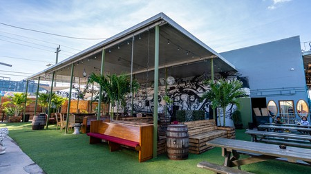 Barter Wynwood combines a cocktail bar with a thrift store