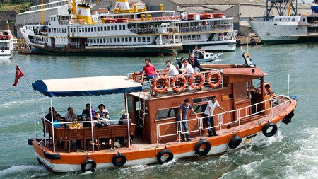 Take a trip on the Golden Horn in Istanbul