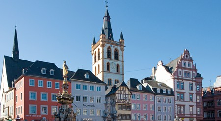 The main market square of Trier, Germany
