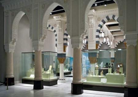 The National Museum in Riyadh is the most visited museum in Saudi Arabia