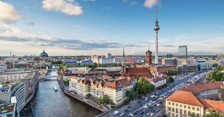 The River Spree flows through Berlin