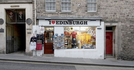 Pick up a souvenir to round off your trip to Edinburgh