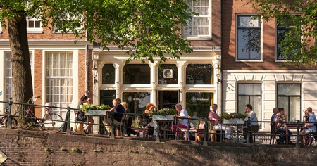 Amsterdam has many great lunchtime options