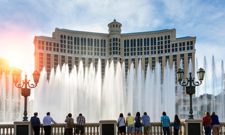 The Bellagio houses its very own Bellagio Gallery of Fine Art