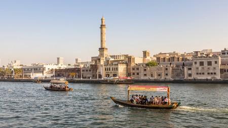 Passenger ferry across Dubai Creek