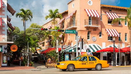 Española Way is a picturesque spot to shop in Miami Beach